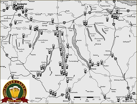 Beer Trails And Brewery Tours
